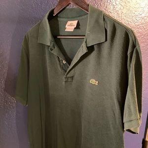 Green Men's Lacoste Polo 🐊 Size 6